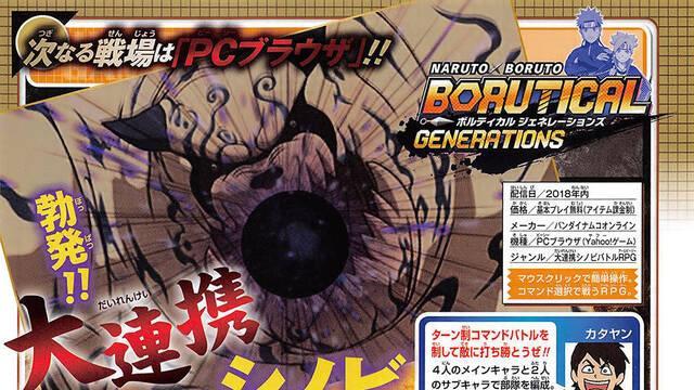 Naruto x Boruto: Borutical Generations para navegadores