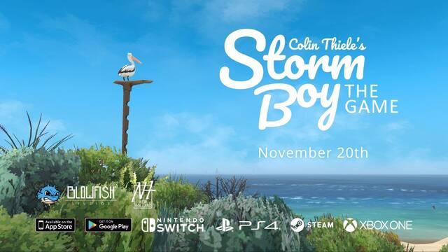 Storm Boy: The Game estará disponible el 20 de noviembre en PC y consolas