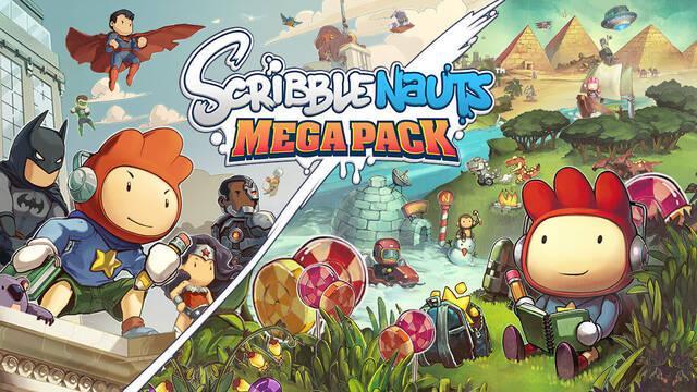 Scribblenauts Mega Pack estará disponible en septiembre en consolas