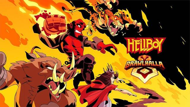 Hellboy llegará a Brawlhalla en abril junto a otros tres personajes