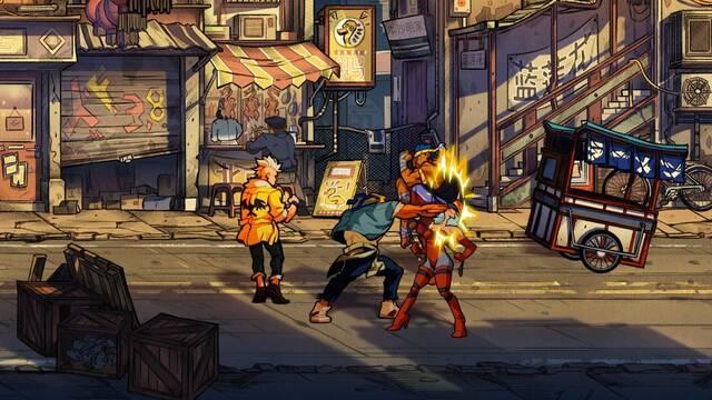 Streets of Rage 4 se muestra en nuevas imágenes