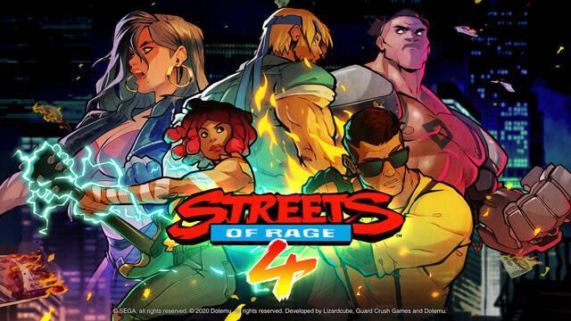 Streets of Rage 4 y su contenido