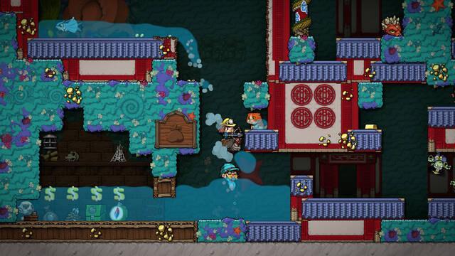 Spelunky 2 muestra su jugabilidad en vídeo e imágenes
