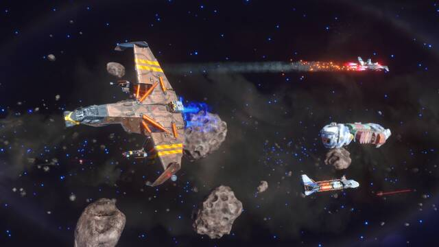 Rebel Galaxy Outlaw llegará el 13 de agosto a PC a través de Epic Games Store