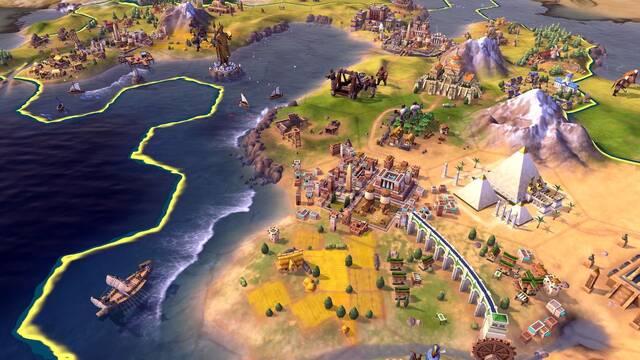 Habrá edición física de Civilization VI en Nintendo Switch