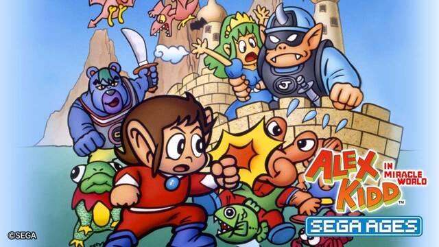 Los clásicos de Sega Alex Kidd y Gain Ground se muestran en vídeo