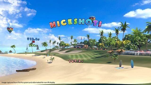 Ya disponible la demo de Everybody's Golf VR