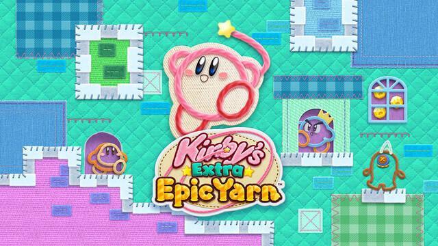 Más Kirby en el reino de los hilos llega a Nintendo 3DS el 8 de marzo