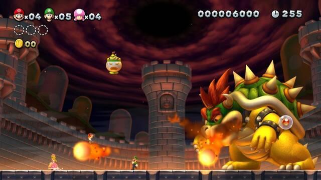Comparan gráficos y rendimiento de New Super Mario Bros U en Switch y Wii U