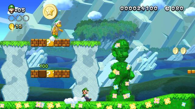 New Super Mario Bros U Deluxe es el más vendido de la semana en Reino Unido