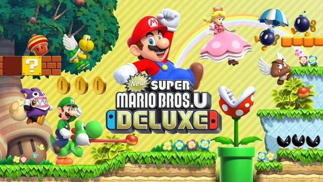 Anunciado New Super Mario Bros. U Deluxe para Switch