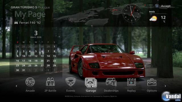 Nuevas imágenes de Gran Turismo 5 Prologue