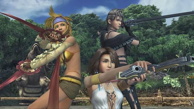 Final Fantasy X/X-2 HD Remaster para Switch no tiene soporte para amiibos