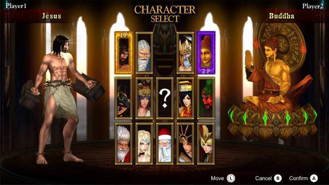 Fight of Gods estrena tráiler de lanzamiento en Switch