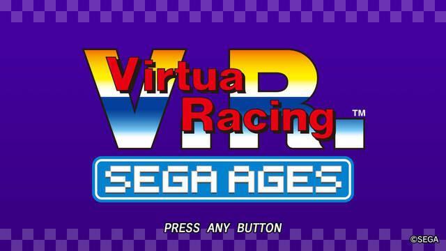 Sega Ages: Virtua Racing llega a Japón el 25 de abril