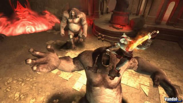 Nuevas imágenes de God of War para PSP