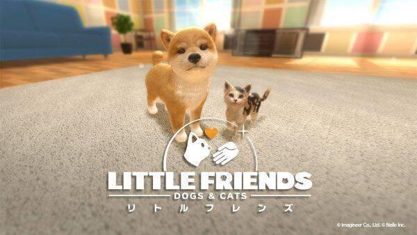 Así es Little Friends: Dogs & Cats, un sucesor de Nintendogs para Switch