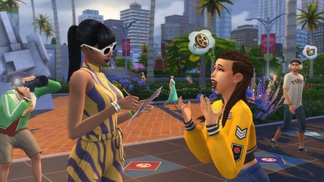 Conviértete en una estrella con Los Sims 4: ¡Rumbo a la fama!
