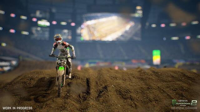 Monster Energy Supercross 2 presenta su jugabilidad en vídeo