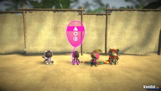 Nuevas imágenes de LittleBigPlanet