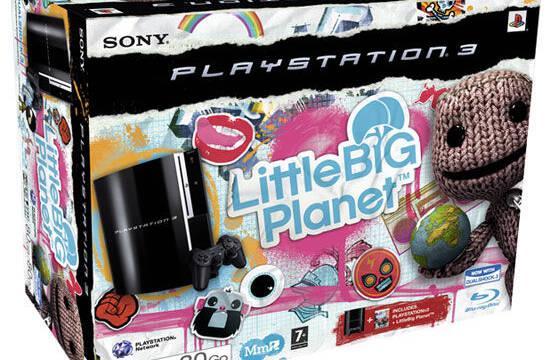 Habrá pack de PS3 con LittleBigPlanet