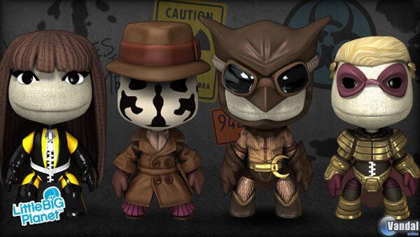 Watchmen llega a LittleBigPlanet