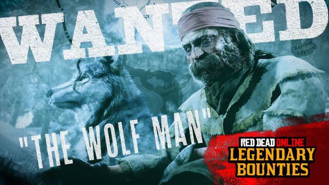 Red Dead Online da la bienvenida a su nuevo fugitivo legendario, El hombre lobo