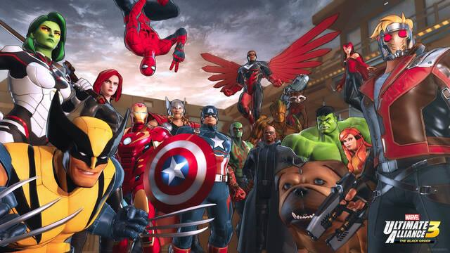 Marvel Ultimate Alliance 3: Los primeros indicios de ventas son muy positivos