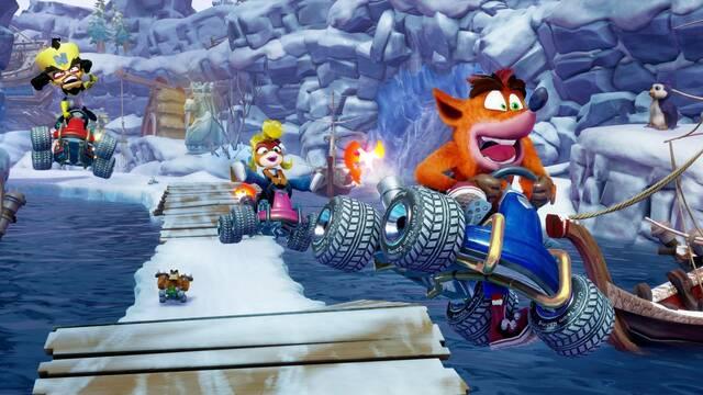 Crash Team Racing Nitro-Fueled tendrá nuevos circuitos y karts