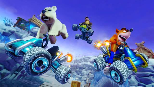 Crash Team Racing Nitro-Fueled fue el juego más descargado en PS Store durante junio