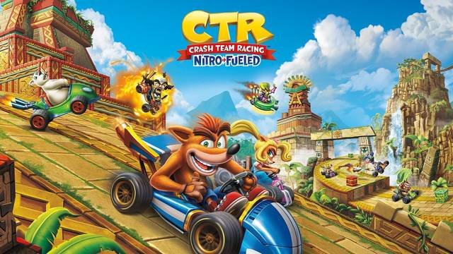Crash Team Racing Nitro-Fueled muestra su arte de portada