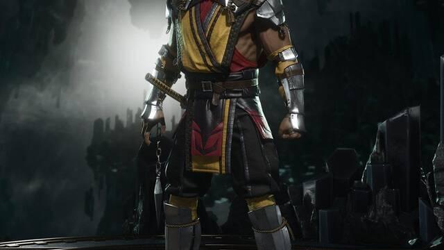 Scorpion luce rediseño en Mortal Kombat 11