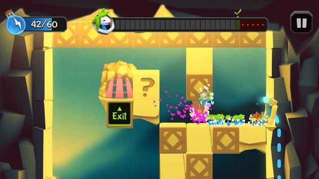 Ya está disponible un nuevo Lemmings para iOS y Android