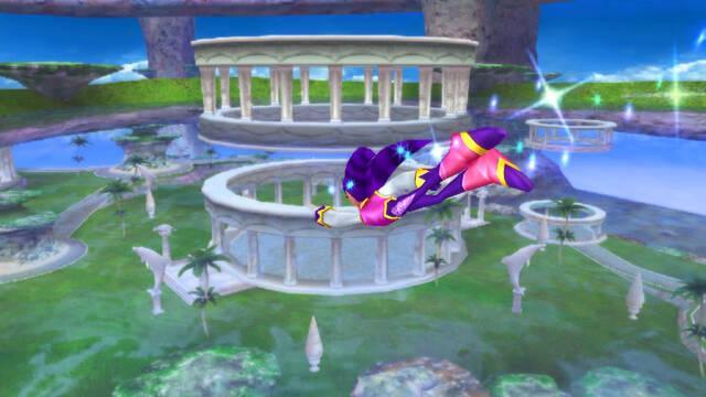Nuevas imágenes de NiGHTS para Wii