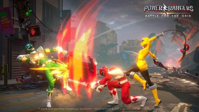 Power Rangers: Battle for the Grid está siendo creado desde cero