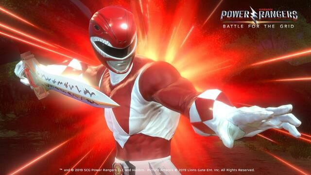 PS4 queda fuera del juego cruzado de Power Rangers: Battle for the Grid