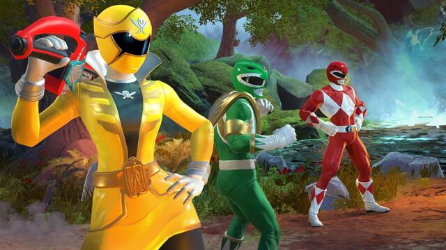 Ya disponible Power Rangers: Battle for the Grid