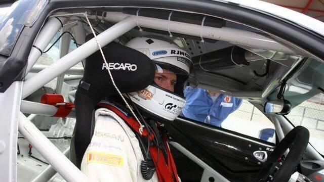 Lucas Ordóñez, ganador de GT Academy, sorprende en Bélgica