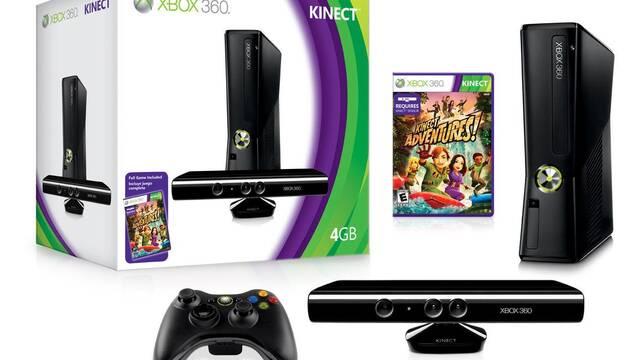 Anunciada una Xbox 360 Slim de 4GB