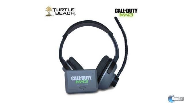 Se muestra la línea oficial de auriculares de Modern Warfare 3