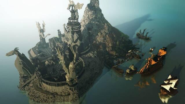 El mundo de Juego de Tronos recreado en Minecraft