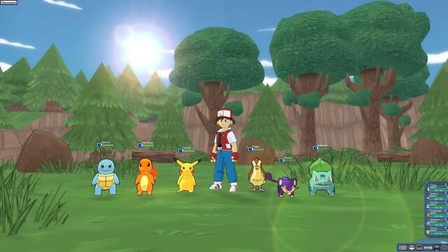 Unos aficionados crean un juego de aventuras 3D de Pokémon