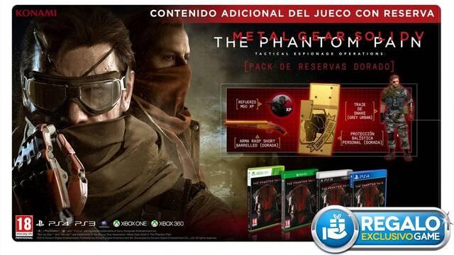 GAME regalará el Golden Pass por la reserva de Metal Gear Solid V