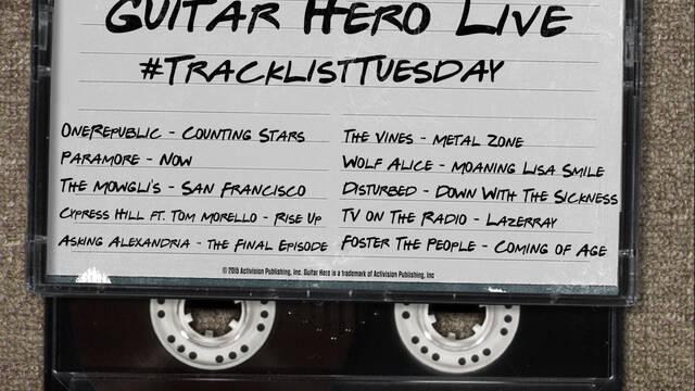 Desveladas nuevas canciones de Guitar Hero Live