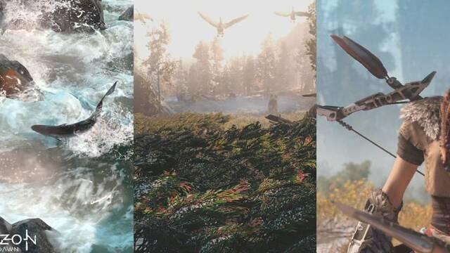 Se podrán cazar animales en Horizon: Zero Dawn