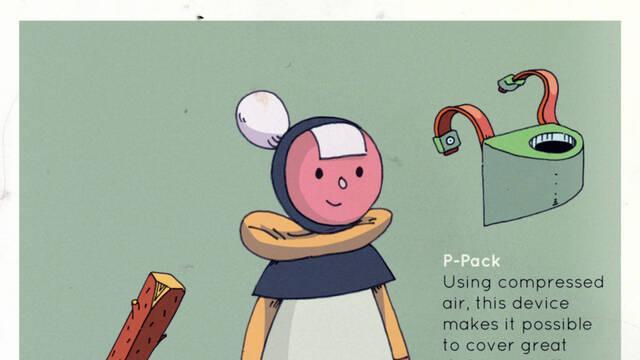 Esta es Ada, la protagonista del indie Pan-Pan