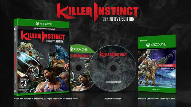 Microsoft confirma la Killer Instinct Definitive Edition