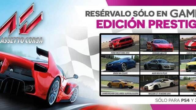 GAME detalla su edición exclusiva de Assetto Corsa para PlayStation 4 y Xbox One