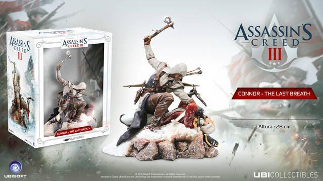 Connor: The Last Breath es la nueva figura dedicada al protagonista de Assassin's Creed III
