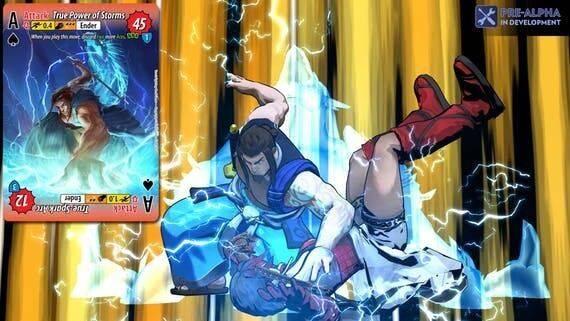 Fantasy Strike, el juego de lucha para todos los públicos, busca financiación